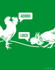 Adoboloco Cock Fight Turns into Chicken Adobo
