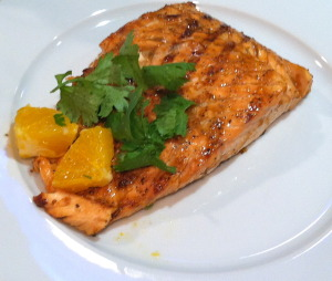 Orange Adoboloco Infused Salmon