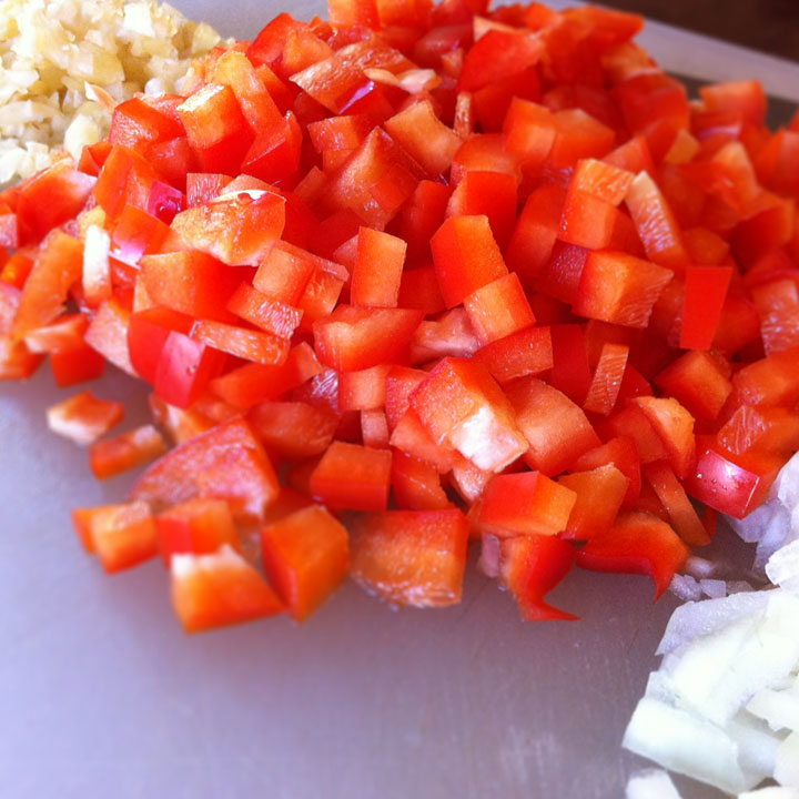 Adoboloco Chopped Garlic Bell Pepper and Onions
