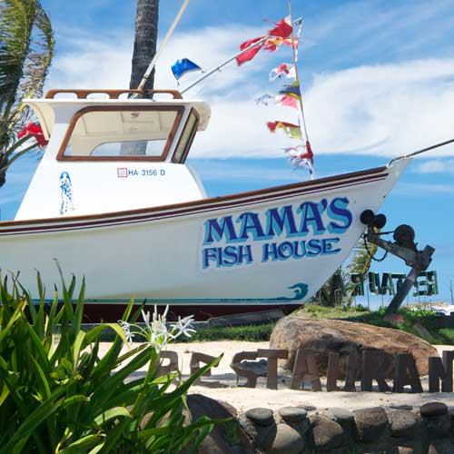 Mama's Fish House Paia Maui Hawaii