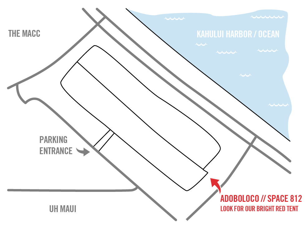 Adoboloco Swap Meet Map Space 812