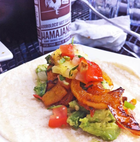 Carne Asada Tacos with Adoboloco Hamajang Smoked Ghost Pepper Hot Sauce