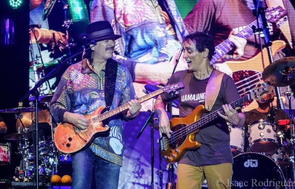 Santana-Benny-wearing-Adoboloco-Hamajang-shirt