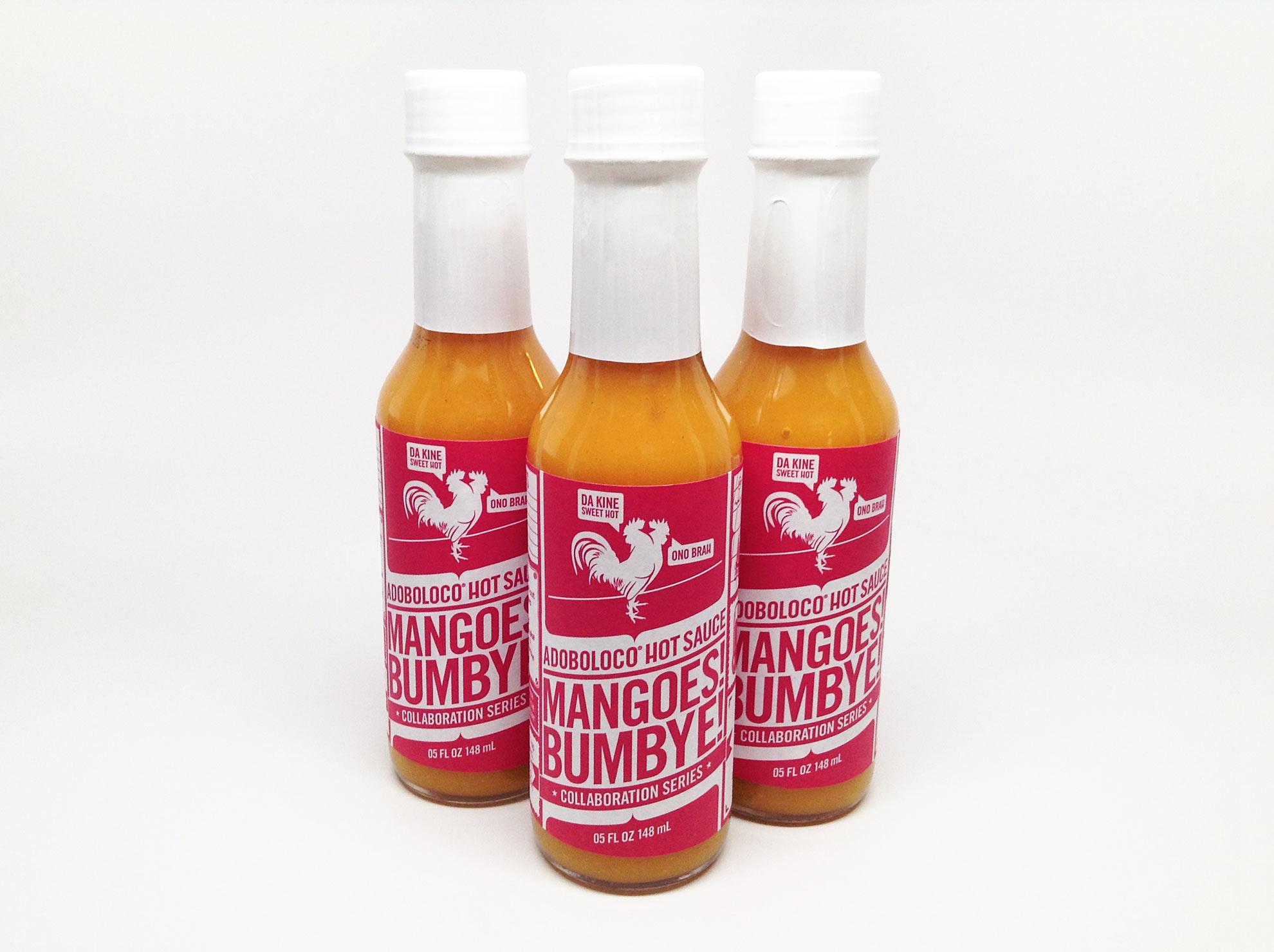 Adoboloco Mango Habanero Hot Sauce - Mangoes! Bumbye!