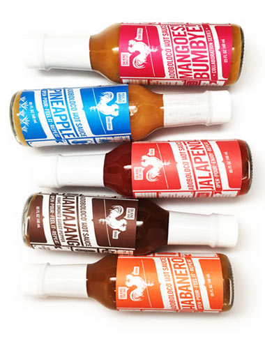 Hot Sauce 3 Pack - Build Your Own - Choose Any 3 Hot Sauce Flavors