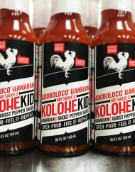 KoloheKid Hawaiian and Ghost Pepper Hot Suace