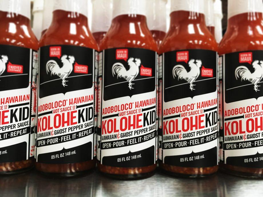 KoloheKid Hawaiian and Ghost Pepper Hot Suace