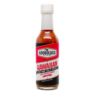 1 Bottle of Adoboloco Hawaiian Chili Pepper Water Hot Sauce