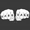 Adoboloco Hard Taco Detail T-Shirt Art