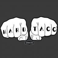 Adoboloco Hard Taco Detail T-Shirt Art