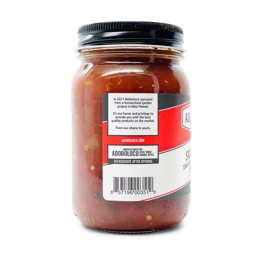 Salsa Adoboloco Roja mild daily table salsa