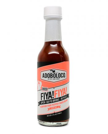 doboloco FIYA FIYA Hot Sauce hot ones heatonist