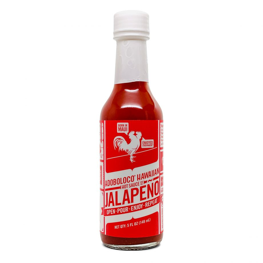 1 Bottle of Adoboloco Jalapeno Mild Hot Sauce that adds the perfect umami flavor