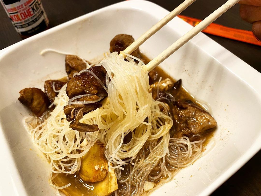 PORK ADOBO PANCIT RECIPE