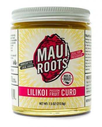 Maui Roots Lilikoi Passion Fruit Curd