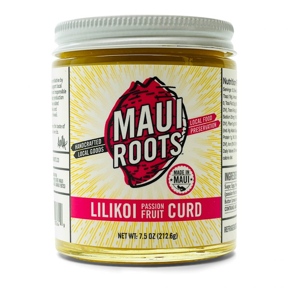 Maui Roots Lilikoi Passion Fruit Curd