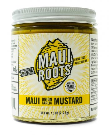 MAUI ROOTS MAUI ONION GARLIC MUSTARD