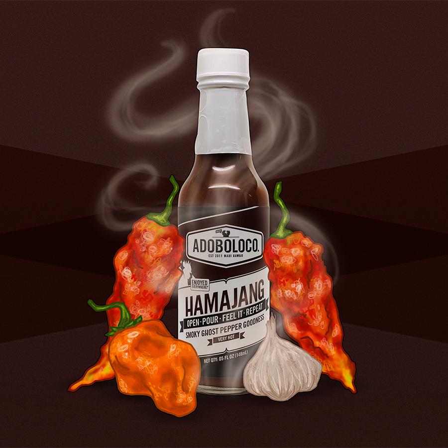 Adoboloco Hamajang Smoked Ghost and Habanero Sauce