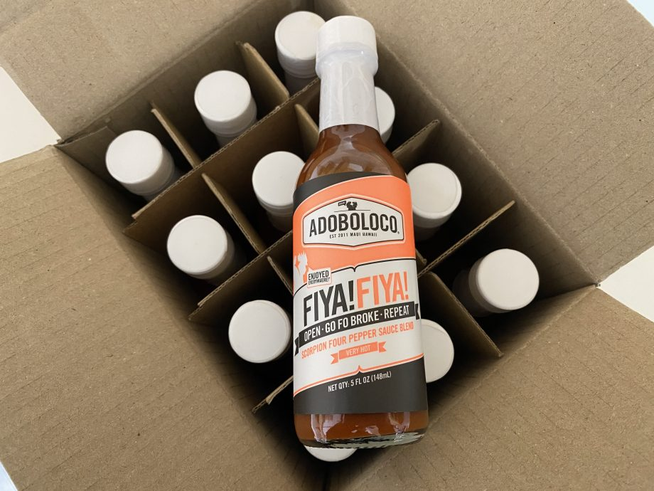 Bulk Adoboloco FIYA! FIYA! by the Case