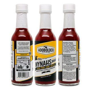 Adoboloco Mynahs Brah! Very Mild Sauce